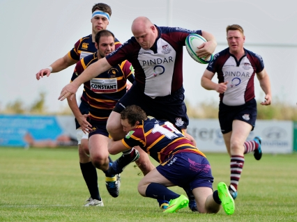 PAUL TAYLOR ON THE CHARGE AGAINST WATH AT SILVER ROYD Andy Standing