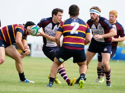 SCARBOROUGH FLY-HALF TOM CHADWICK IN ACTION