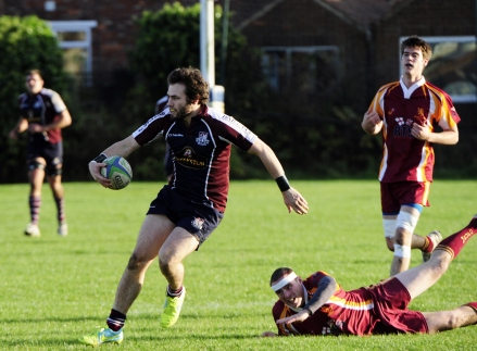 HARRY DOMETT WAS IN SIZZLING FORM BEFORE BEING SENT OFF