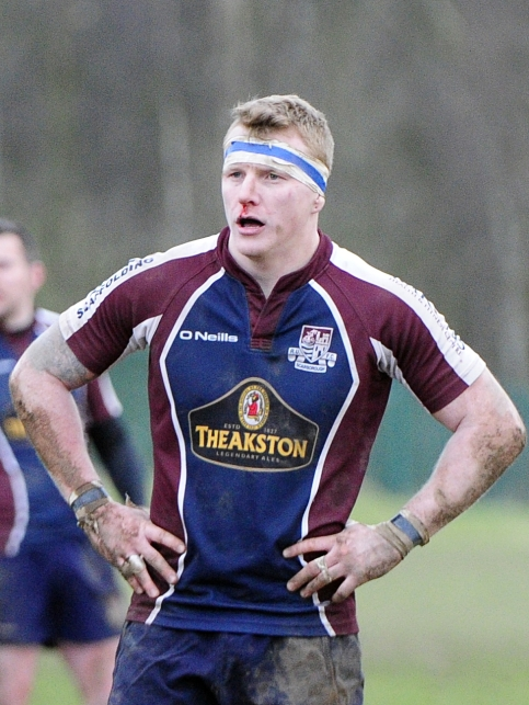 EAMON CHAPMAN HAS LEFT SCARBOROUGH FOR GUERSEY RUFC photograph ANDY STANDING