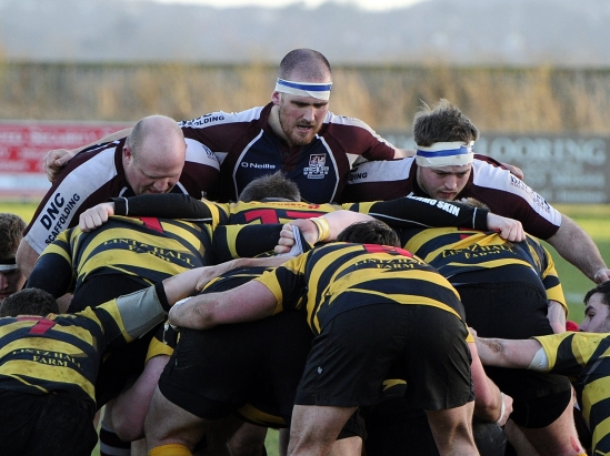 SCARBOROUGH PACKS DOWN AGAINST CONSETT IN THE GROUP STAGES OF THE INTERMEDIATE CUP
