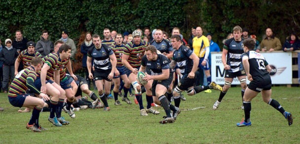 BRIDGNORTH ON THE CHARGE AGAINST NORTHAMPTON OLD SCOUTS