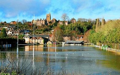 BRIDGENORTH RFC's GROUND UNDER WATER