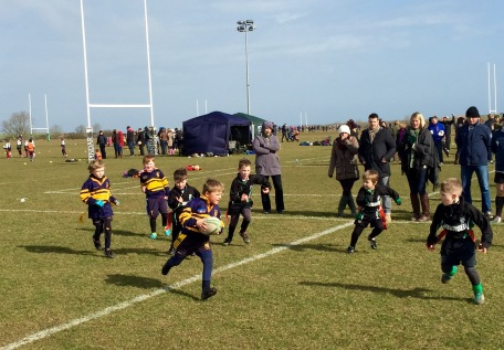 BRIDLINGTON KIDS IN MINI ACTION