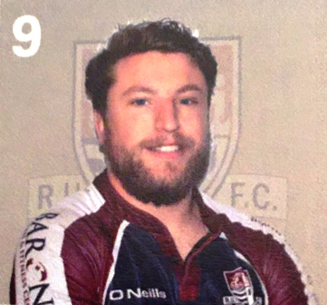 SCARBOROUGH'S TRY SCORER AT PONTEFRACT MARTIN ROBINSON