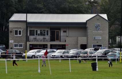 NEW CLUBHOUSE AT HEATH RUFC