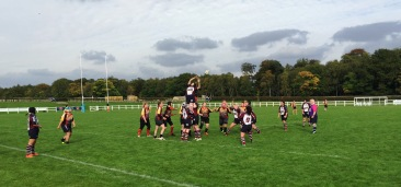 VALKRYIES LINEOUT AT HARROGATE